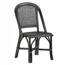 Accent Side Dining Chair- 2/CTN - Black Finish