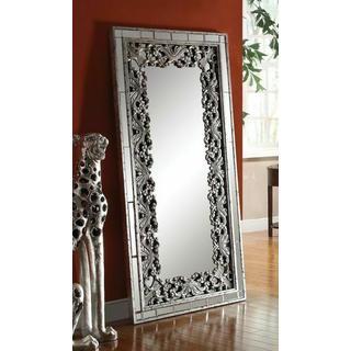 ACME Vern Accent Mirror (Floor) - 97106 - Silver