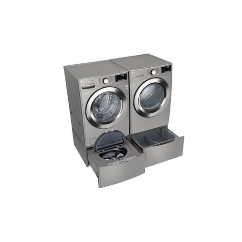 LG Canada - 5.2 cu. ft. Ultra Large Smart Wi-Fi Enabled Front Load Washer