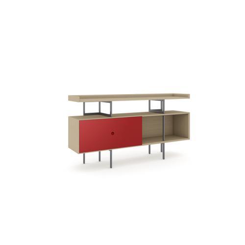 BDI Furniture - Margo 5211 Console in Drift Oak Cayenne