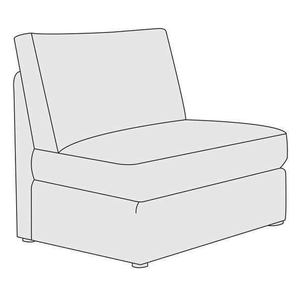 Sydney Armless Chair