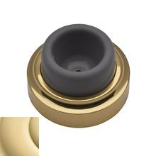 Non-Lacquered Brass Wall Flush Bumper