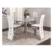 Valencia 5pc White Pub Set Product Image