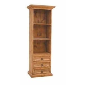 """Million Dollar Rustic - 25"""" Bookcase W/3 Dwr"""