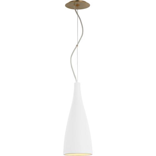 Visual Comfort - Barbara Barry Nimbus LED 7 inch Matte White Pendant Ceiling Light, Tall
