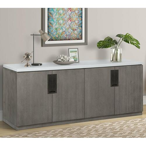 PURE MODERN Credenza with Quartz top