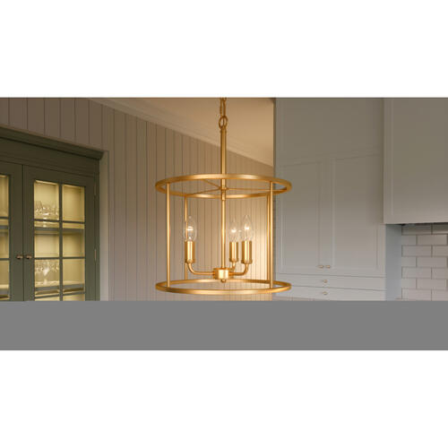 Quoizel - Abner Pendant in Aged Brass