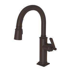 Oil Rubbed Bronze Prep/Bar Pull Down Faucet
