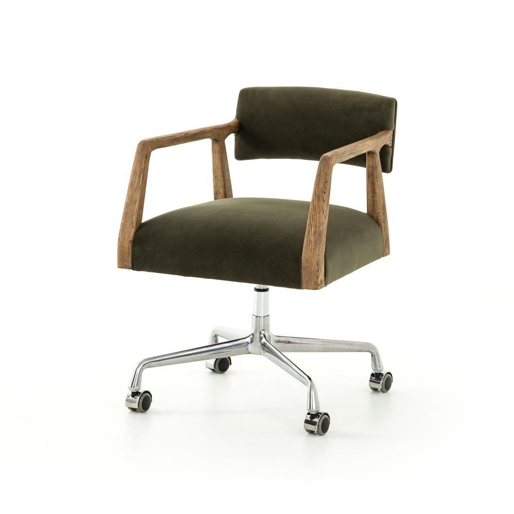 Velvet Loden Cover Tyler Desk Chair