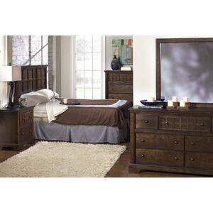Drawer Dresser - Walnut Finish