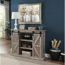 ACME Orabella TV Stand - 91614 - Farmhouse - Wood (Pine), MDF - Rustic Natural