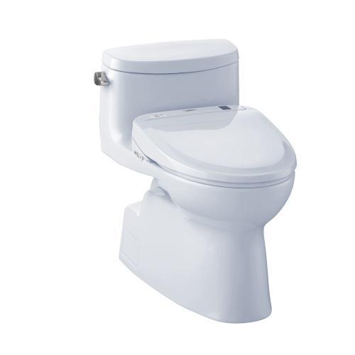 Carolina® II WASHLET®+ S350e One-Piece Toilet - 1.28 GPF - Cotton