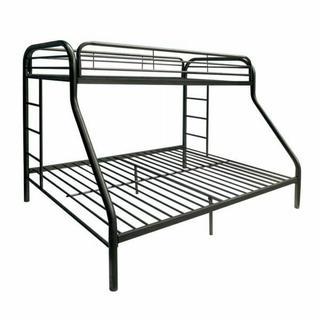 ACME Tritan Twin/Full Bunk Bed - 02053BK - Black