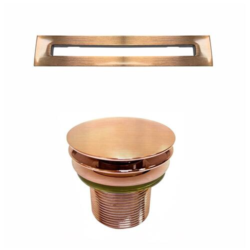"Nicole 71"" Acrylic Tub with Integral Drain and Overflow - Oil Rubbed Bronze Drain and Overflow"