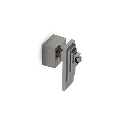 Brushed Nickel Nouveau Lever Volume Control and Diverter Trim