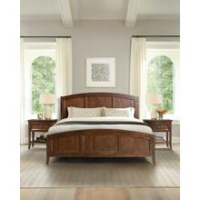 King Bed in Cognac