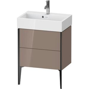 Duravit - Vanity Unit Floorstanding Compact, Cappuccino High Gloss (lacquer)