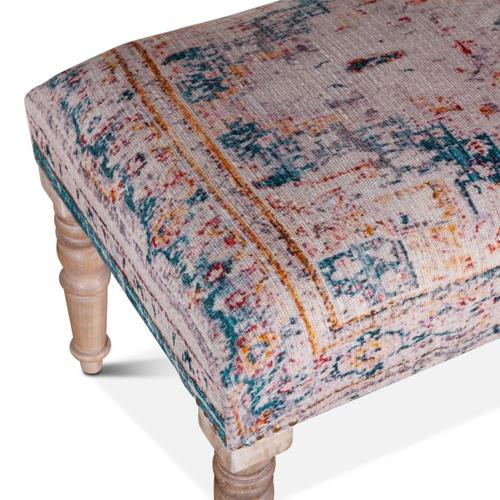 """Marrakech Bench 60"""" Turquoise"""