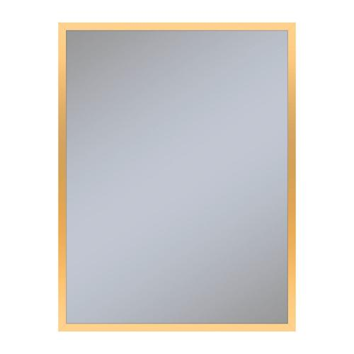 "Profiles 23-1/8"" X 29-7/8"" X 3/4"" Framed Mirror In Matte Gold"