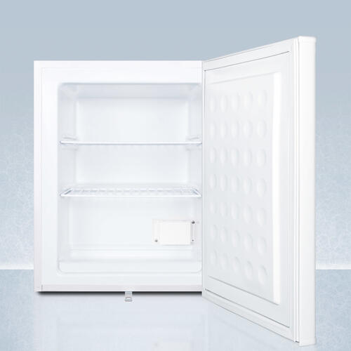 Summit - Compact Commercially Listed Manual Defrost All-freezer With Nist Calibrated Thermometer and Lock