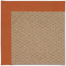 "Creative Concepts-Raffia Canvas Rust - Rectangle - 24"" x 36"""
