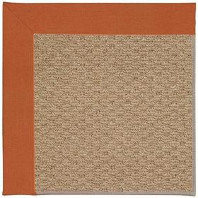"Creative Concepts-Raffia Canvas Rust - Rectangle - 24"" x 36"""