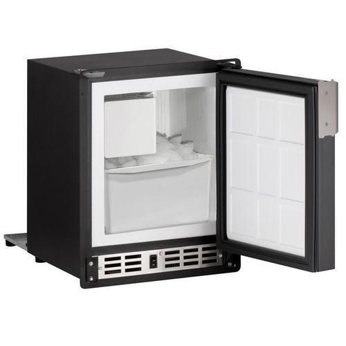 "Product Image - 15"" Crescent Ice Maker With Black Solid Finish (115 V/60 Hz Volts /60 Hz Hz)"