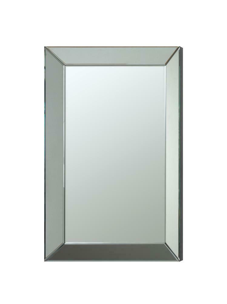 Transitional Rectangle Accent Mirror