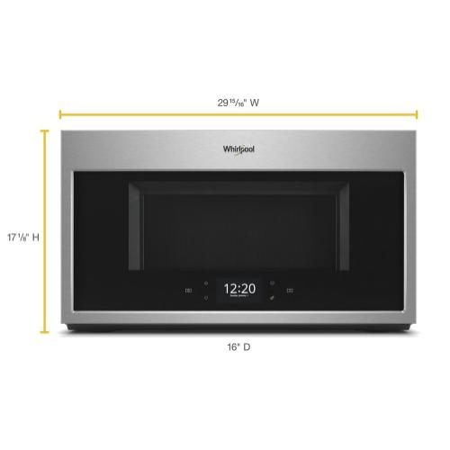 Product Image - 1.9 cu. ft. Smart Over-the-Range Microwave with Scan-to-Cook technology 1