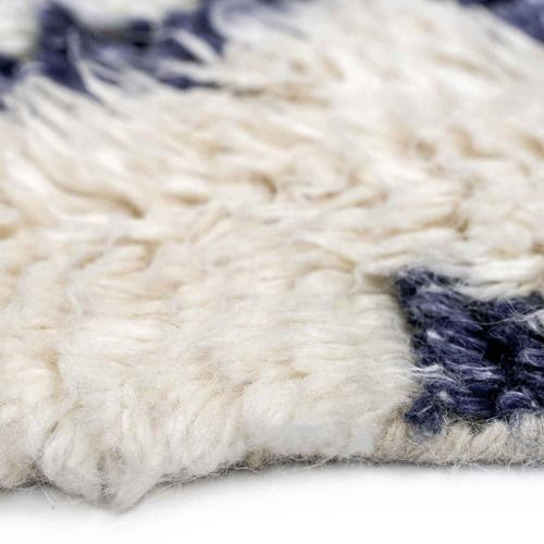 """Capel Rugs - Nomad Ivory Navy - Rectangle - 3'6"""" x 5'6"""""""