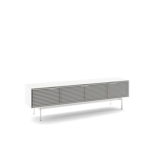 BDI Furniture - Align 7473 Media + Storage Console in Satin White Console Base