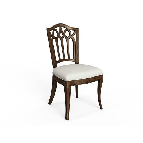 Thoroughbred Gentry Side Chair (wood) - Toast