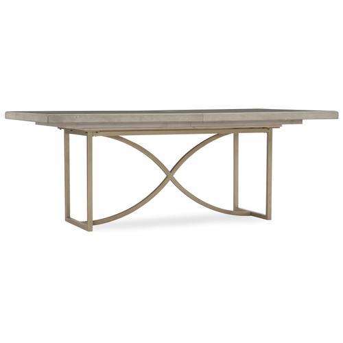 Hooker Furniture - Elixir 80in Rectangular Dining Table w/1-20in Leaf