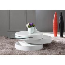 See Details - Modrest Tier - Modern Swivel Coffee Table