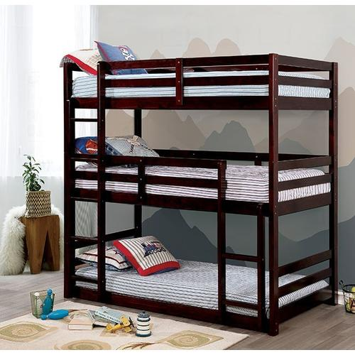 Twin/Twin/Twin Bunk Bed California V