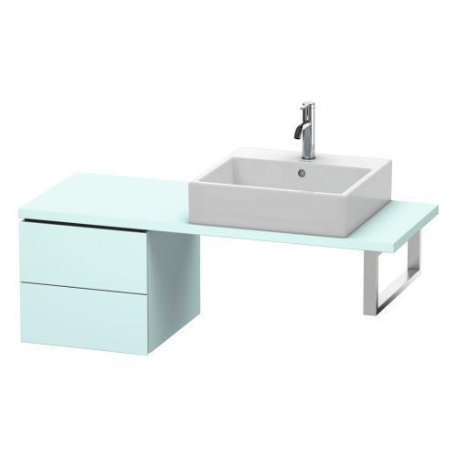 Duravit - Low Cabinet For Console Compact, Light Blue Matte (decor)
