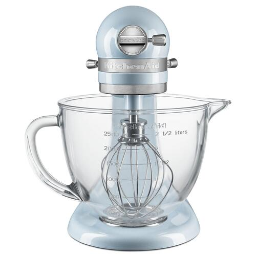 KitchenAid - Artisan® Mini Design Series 3.5 Quart Tilt-Head Stand Mixer Sea Shimmer