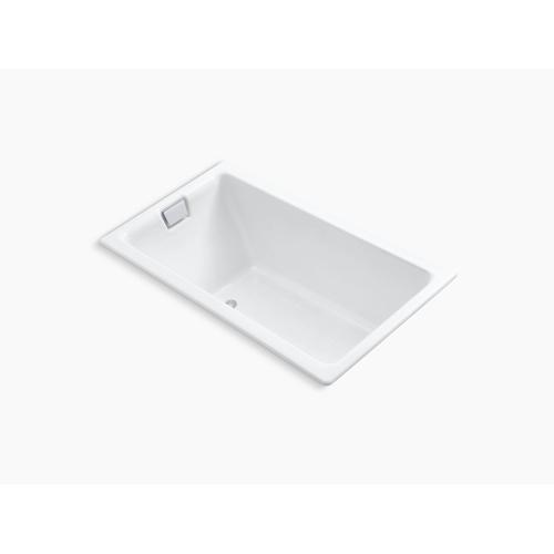 """Lavender Grey 66"""" X 36"""" Drop-in or Undermount Bath"""