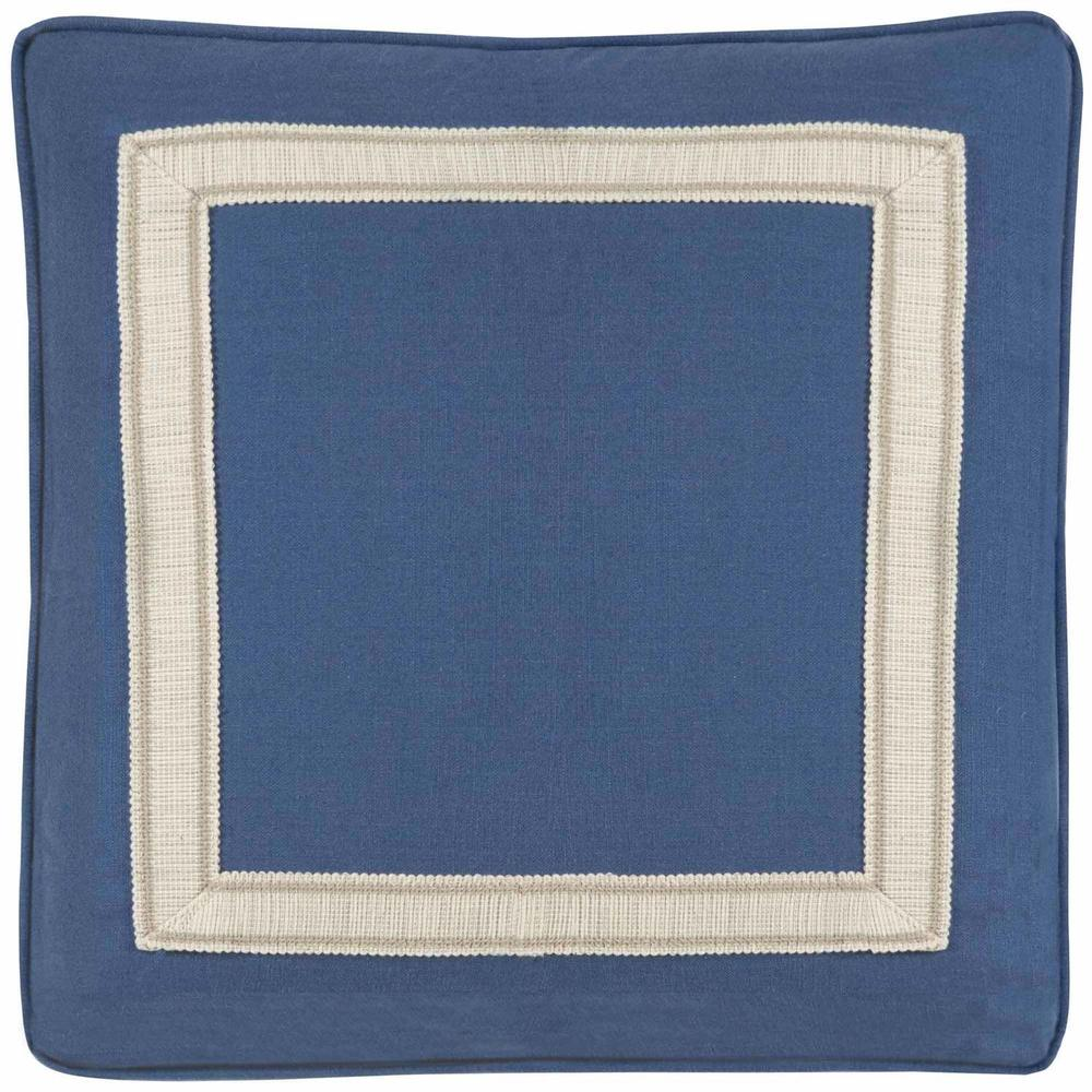 """See Details - Custom Decorative Pillows Box Border Picture Frame Tape (21"""" x 21"""")"""