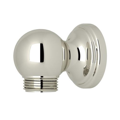 Polished Nickel Perrin & Rowe Wall Outlet For Riser