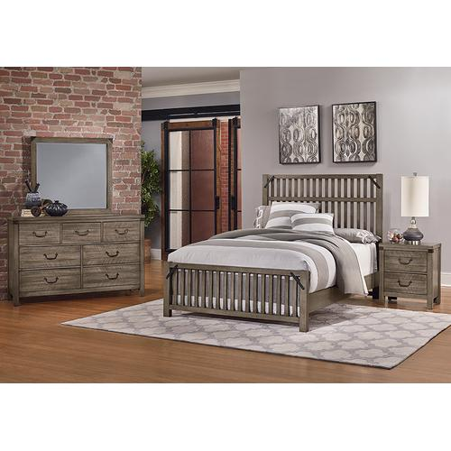 King Elevator Slat Bed