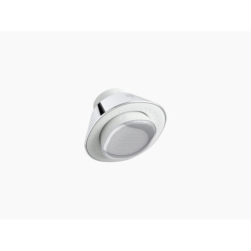 Polished Chrome 2.5 Gpm Showerhead and Wireless Speaker