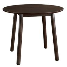See Details - Round Dining Table - Coffee Bean Finish