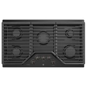 """GE Profile™ 36"""" Built-In Gas Cooktop with an Optional Extra-Large Cast Iron Griddle"""