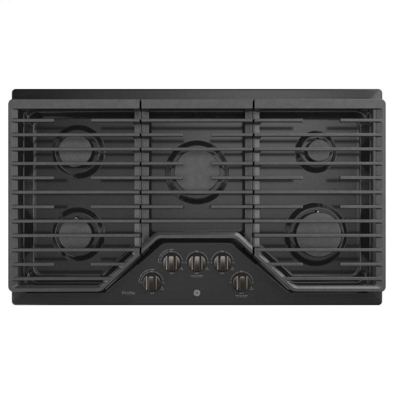 """36"""" Built-In Gas Cooktop with an Optional Extra-Large Cast Iron Griddle"""