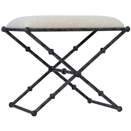 Gallery - Mirabelle Metal Bench in Carbon (304)