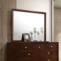 Serenity Rich Merlot Dresser Mirror Product Image