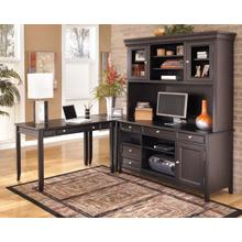 Carlyle - Black 4 Piece Home Office Set