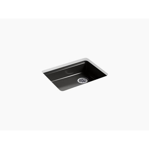 "Black Black 25"" X 22"" X 5-7/8"" Undermount Single-bowl Kitchen Sink"