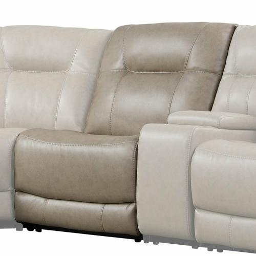 See Details - AXEL - PARCHMENT Manual Armless Recliner